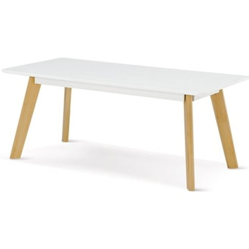 Belgium Rectangle Coffee Table White