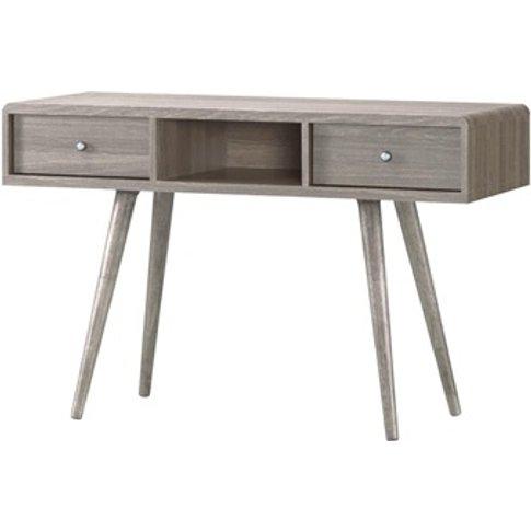 Belvoir Dressing Table 2 Drawer Grey Oak