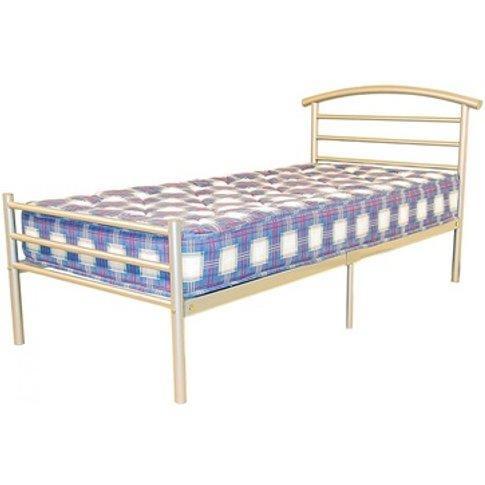 Brenington Bed Silver