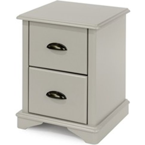 Brora 2 Drawer Compact Bedside Cabinet
