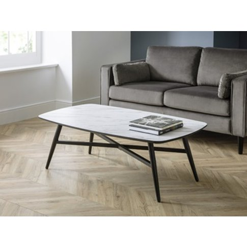 Caruso Marble Effect Coffee Table