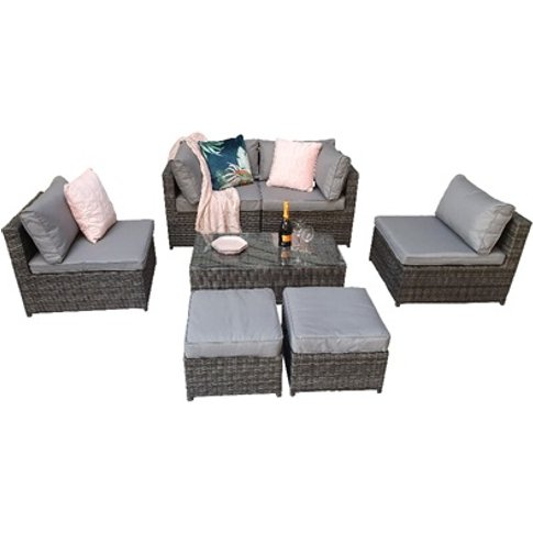 Chelsea Modular Sofa Set - Grey