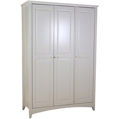 Chelsea White Wardrobe 3 Door