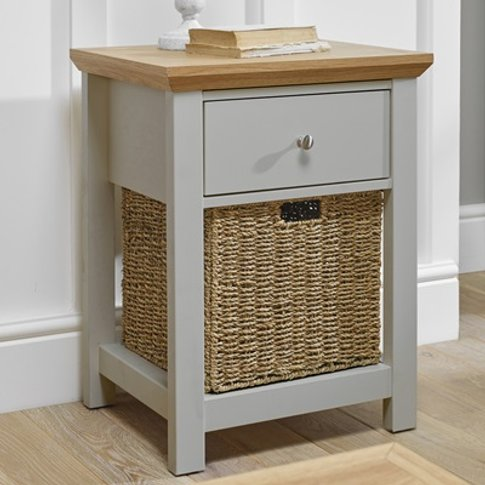 Cotswold Lamp Table Grey