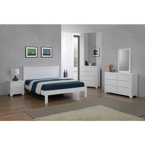 Etna Wooden Bed