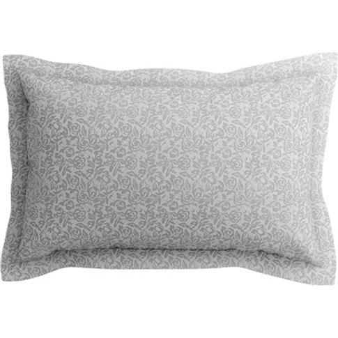 Etta Oxford Pillowcase Dove Grey