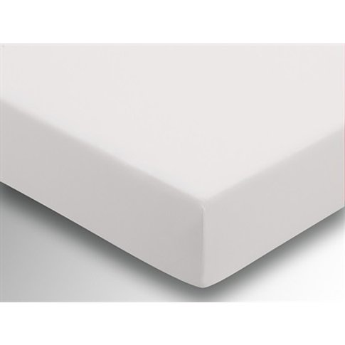 Plain Dye Fitted Sheet (Extra Deep) - Ivory