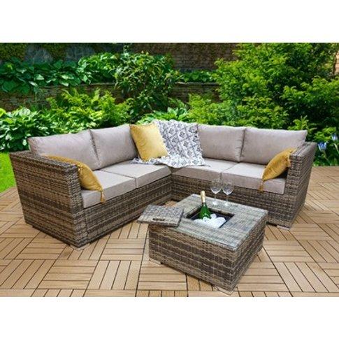 Georgia Corner Sofa Set Including Coffee Table With ...