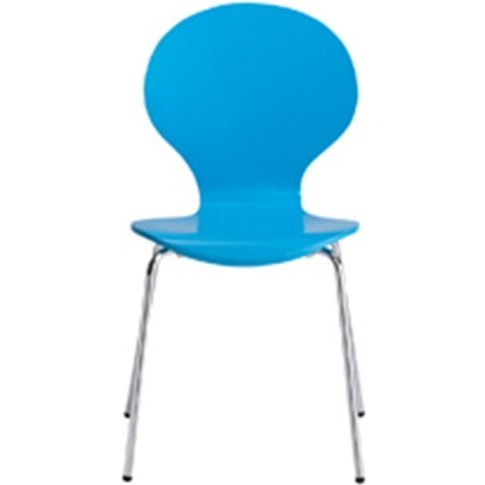 Ibiza Dining Chair Blue (Pack Of 4)