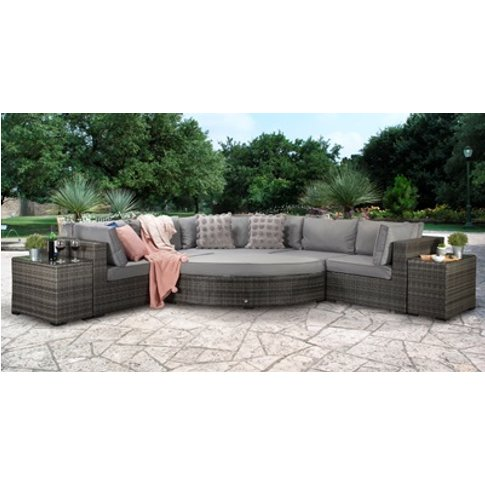 Jessica Large Corner Sofa Set - Mixed Grey