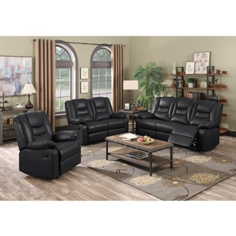Kirk Recliner Leathergel And Pu Armchair