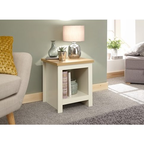 Lancaster Side Table With Shelf