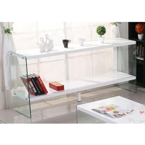 Marco White High Gloss And Glass Sideboard