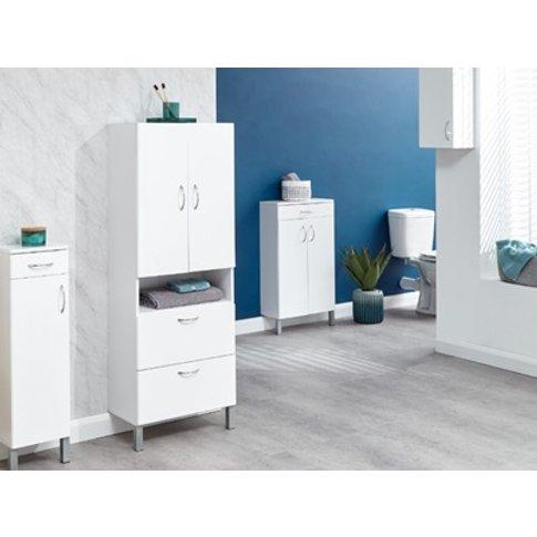 Moritz 2 Door 2 Drawer Cabinet
