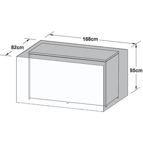 Outdoor Cover For Large Storage Box