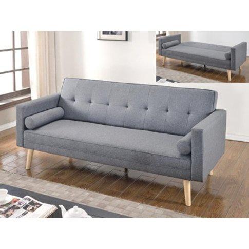 Paris Sofa Bed Light Grey