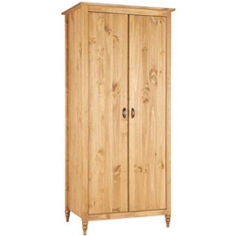 Pembroke 2 Door Pine Wardrobe