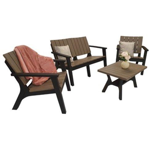 Polly Four-Seater Sofa Set