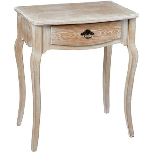 Provence Lamp Table Weathered Oak