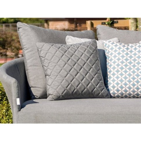 Pair Of Quilted Scatter Cushions