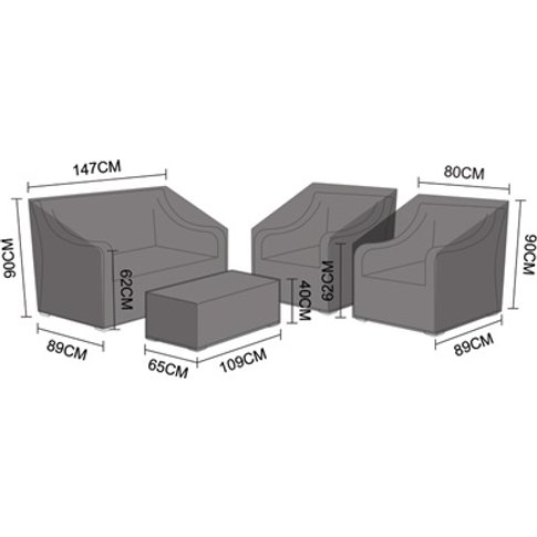 Sofa Set Cover - Oxley 2 Seater