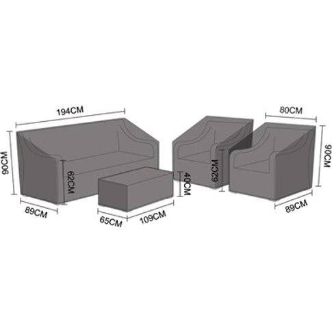 Sofa Set Cover - Oxley 3 Seater
