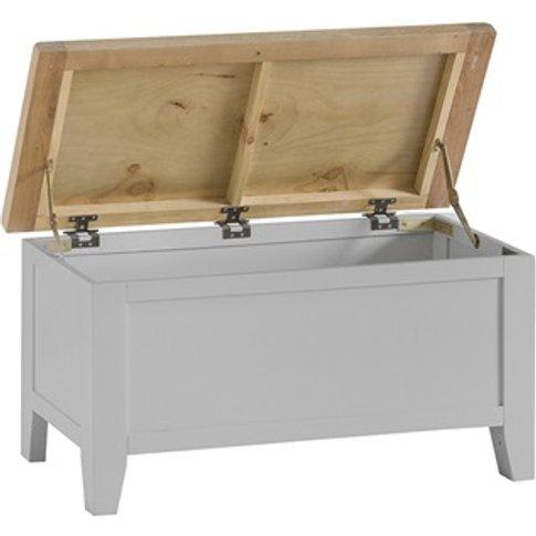 Southwold Grey Blanket Box