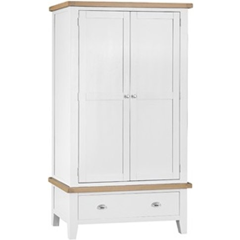 Southwold White Single Hanging Wardrobe