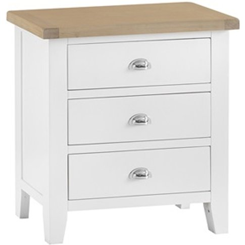 Southwold White 3 Drawer Chest