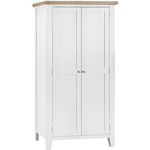 Southwold White Full Hanging Wardrobe