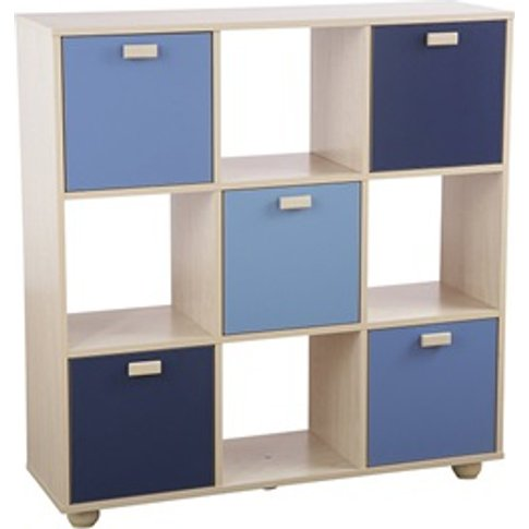 Sydney Blue 3x3 Cube Storage Unit