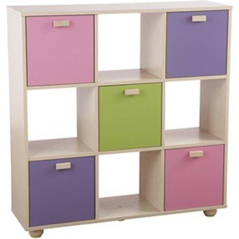 Sydney Pastel 3x3 Storage Unit