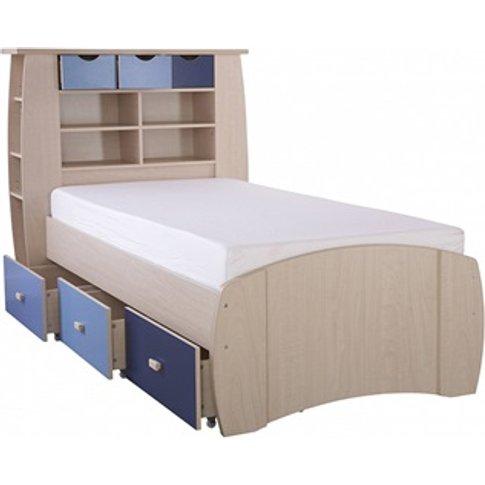 Sydney Blue Storage Bed