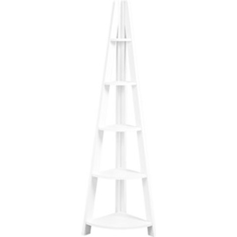 Tiva Corner Ladder Shelving Unit
