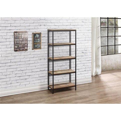 Urban 5 Tier Bookcase Rustic