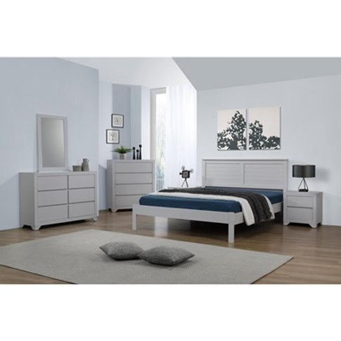 Wilmot Bed Grey