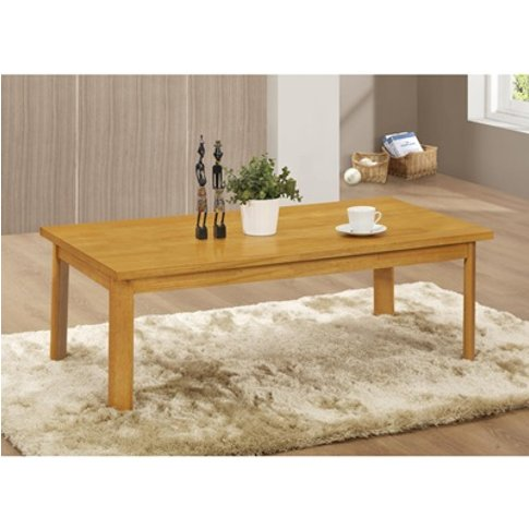 York Coffee Table Natural Oak