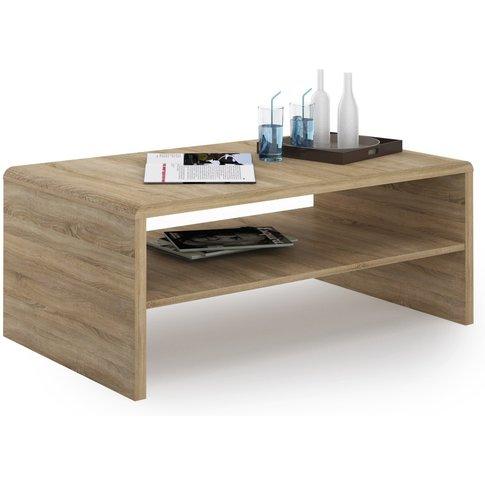 Moderne Oak Coffee Table