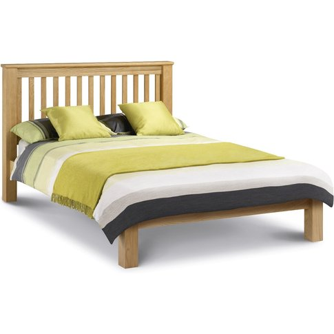Amsterdam Oak Bed Lfe 150cm