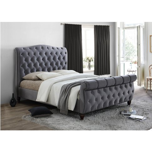 California Grey Super King Size Bed