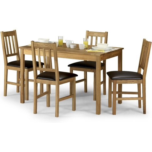 Banbury Oak Dining Table With 4 Chairs