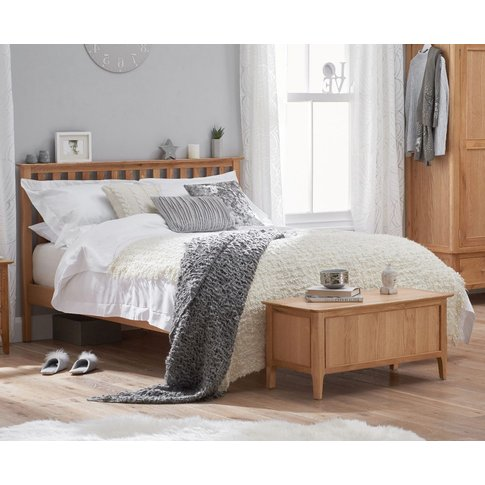 Sadie Oak King Size Bed