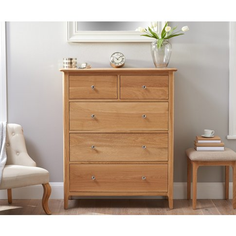 Sadie Oak 2 Over 3 Chest Of Drawers