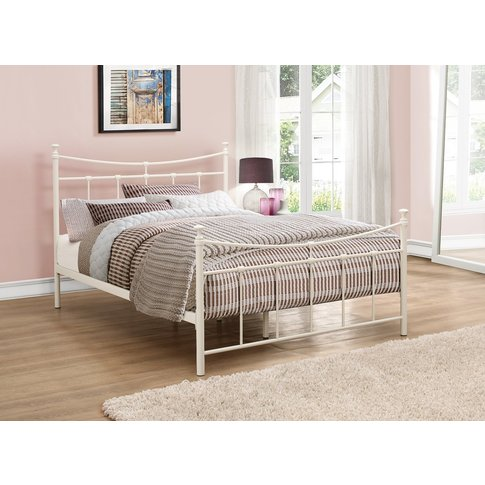 Georgia Cream Double Bed