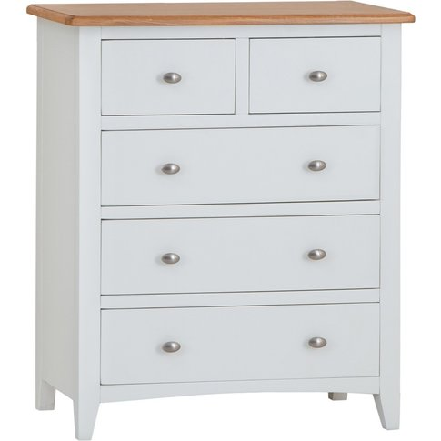 Arlia 2 Over 3 Chest Of Drawers