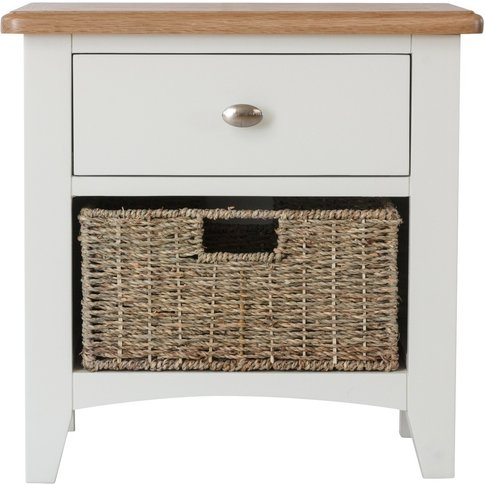Arlia 1 Drawer 1 Basket Storage Unit