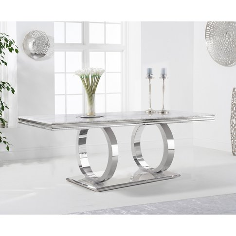 Harlow 180cm Marble Dining Table