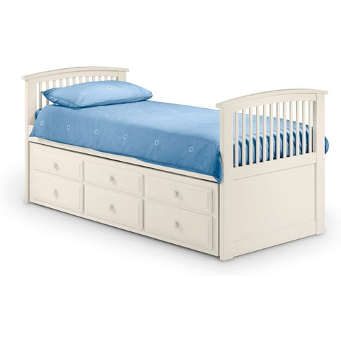 Hornblower White Bed