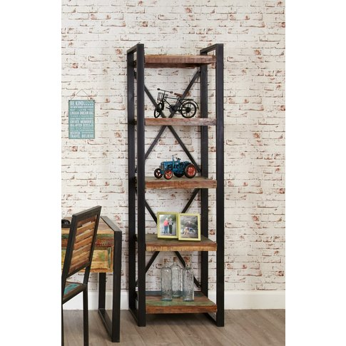 Downtown Modern Alcove Bookcase
