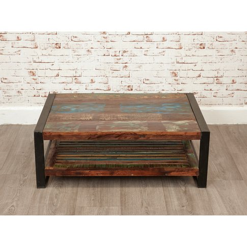 Downtown Modern Rectangular Coffee Table